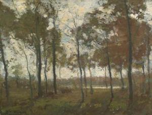 Henry Ward Ranger –Fall Landscape  (Spanierman Gallery)