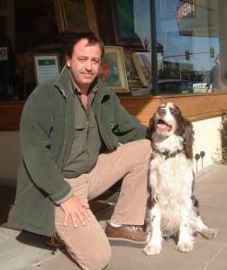 Nikolo Balkanski with Rudy