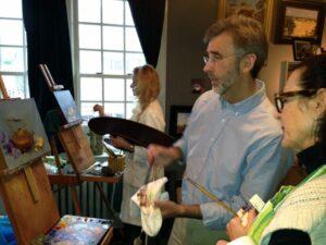 Teaching in the Studio