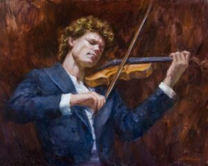 """Beethoven's Violin Concerto"" by Lynn Gertenbach OPA"