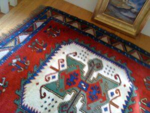 oriental rug I made