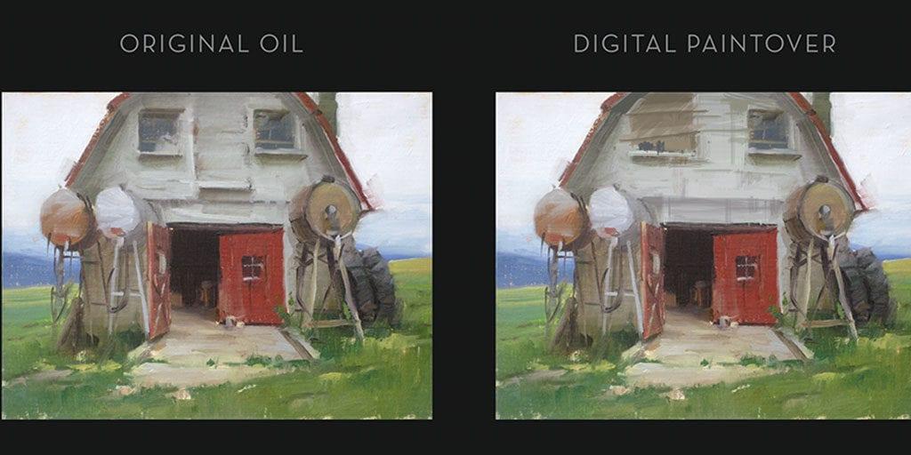Digital Paintovers