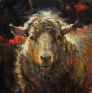 Shear Delight - 20 x 20 - Oil