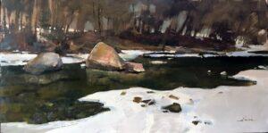 """""""River Rock"""" by Jason Sacran"""