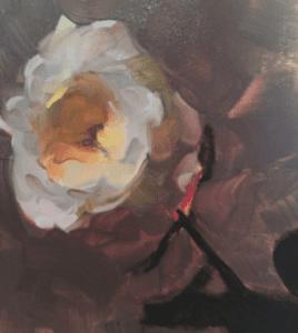 """White Rose Study"", Dennis Perrin"