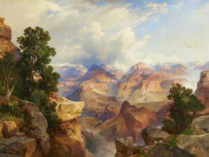 Thomas Moran Grand Canyon Gilcrease Museum